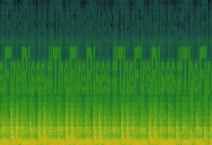 #thefirerises spectrogram