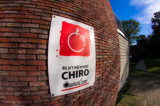uithangbord reclamebord Chiro