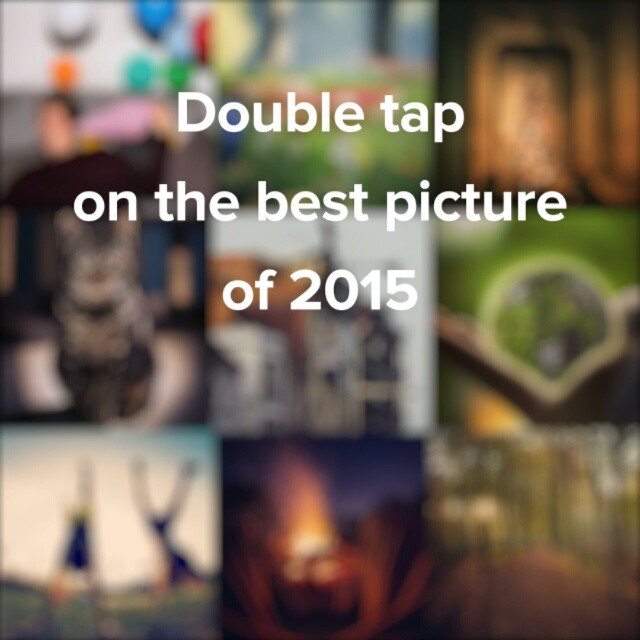 Double tap on the best picture of 2015 ???? #throwback #bestnineofinstagram #bestof2015