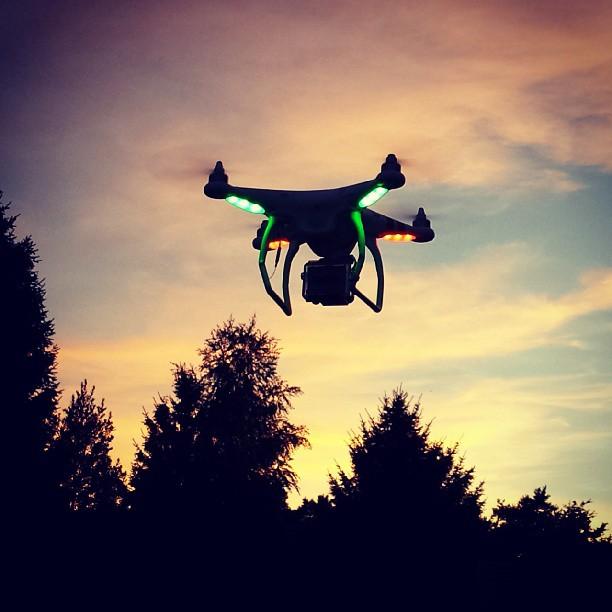 quadcopter gopro phantom dji drone